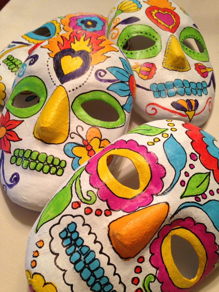 2013 D of D skull masks