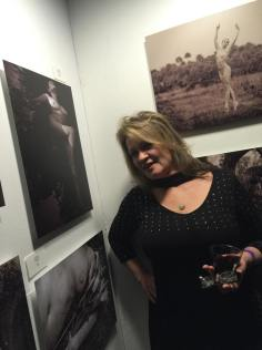2016 - Jackie Lewis with her photo