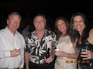 Jon Hall, Steve, Carol, and Dagny
