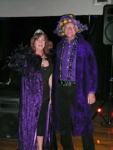 Queen Teri and King Geof