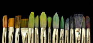 paint brushes for website
